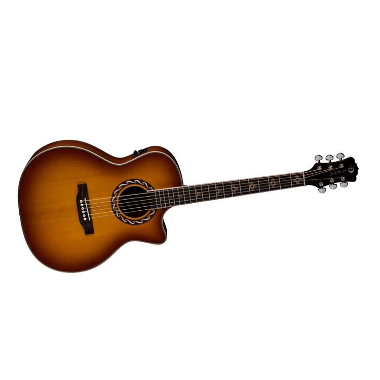 Luna GuitarsAmericana Inspired AMZ 100 Zia Acoustic-Electric Guitar
