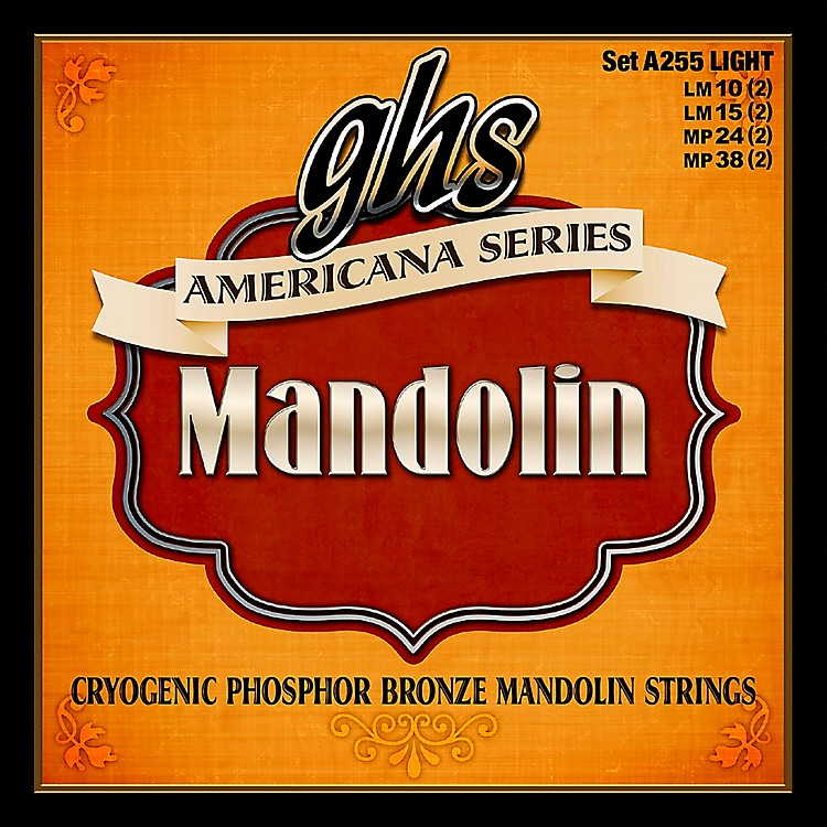 GHSAmericana Light Mandolin Strings (10-38)