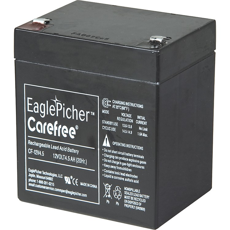 FenderAmp Can Replacement Battery