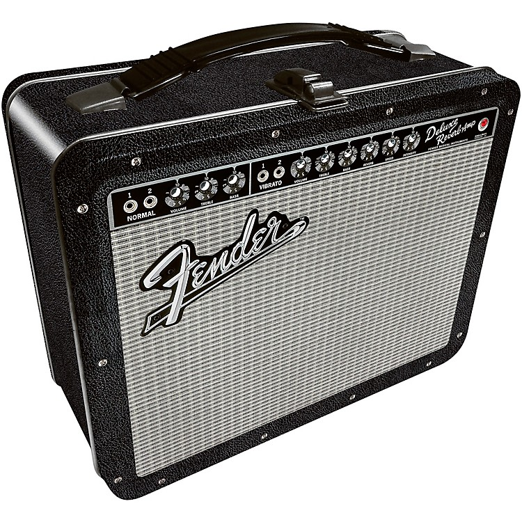 FenderAmp Tin Lunch Box