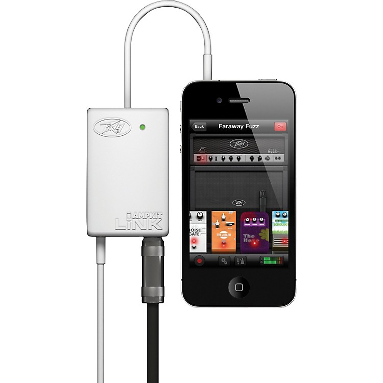 PeaveyAmpKit LiNK Guitar Interface for iPhone and iPod Touch