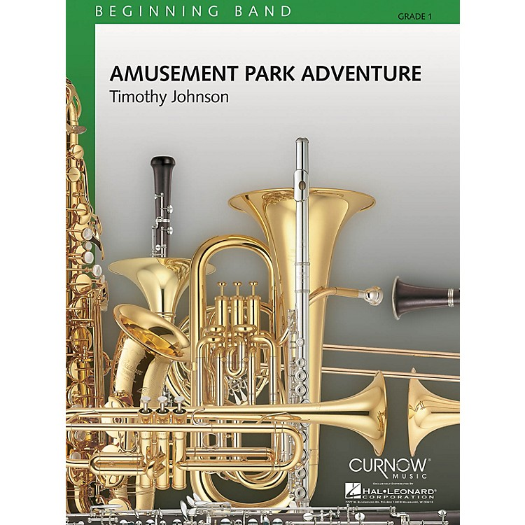 Curnow MusicAmusement Park Adventure (Grade 1 - Score and Parts) Concert Band Level 1 Composed by Timothy Johnson