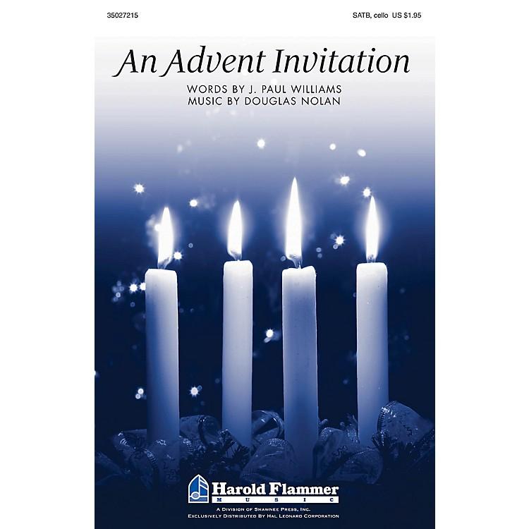 Shawnee PressAn Advent Invitation SATB composed by J. Paul Williams