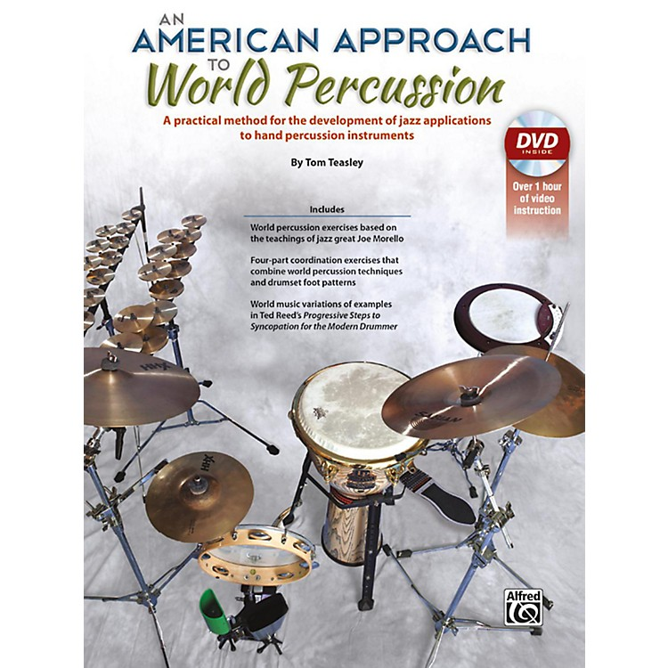 AlfredAn American Approach to World Percussion Book & DVD