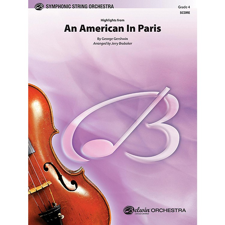 BELWIN An American in Paris, Highlights from Grade 4