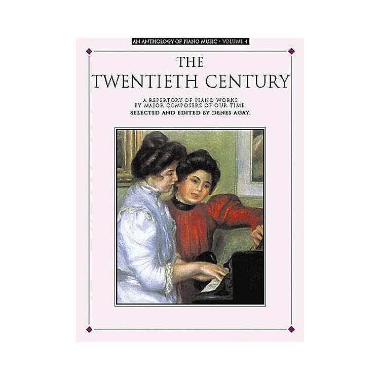 Music SalesAn Anthology of Piano Music Volume 4: The Twentieth Century Yorktown Series Softcover