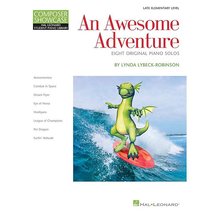 Hal LeonardAn Awesome Adventure Piano Library Series Book by Lynda Lybeck-Robinson (Level Book 3)