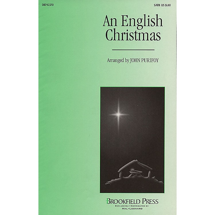 Brookfield An English Christmas (Medley) SATB arranged by John Purifoy