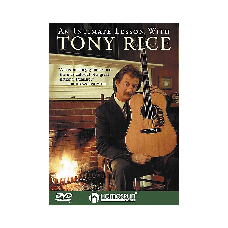 HomespunAn Intimate Lesson with Tony Rice (DVD)