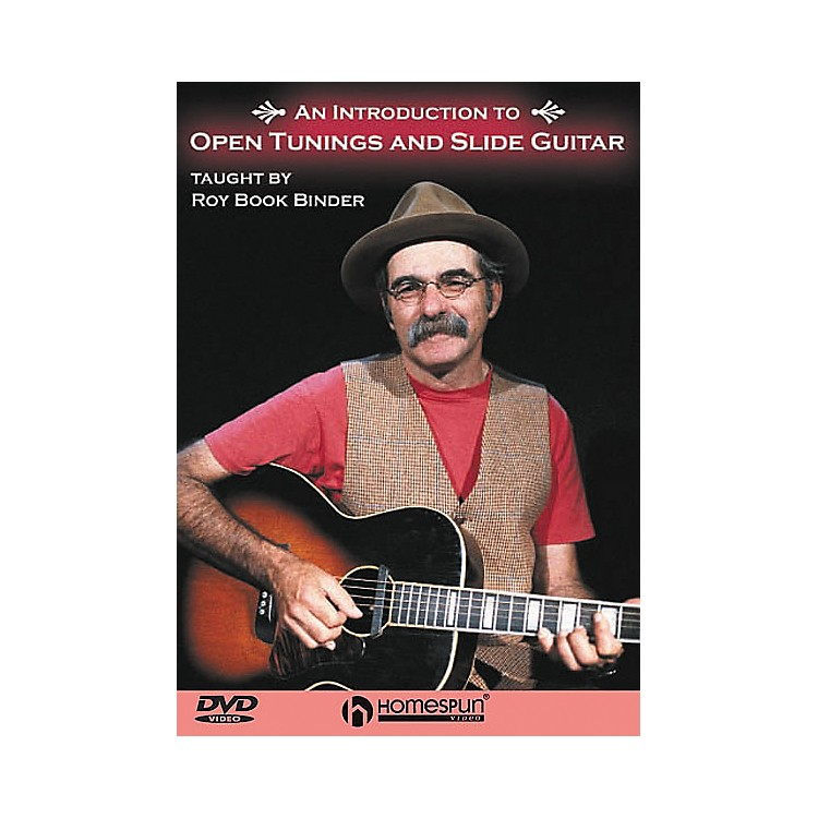 HomespunAn Introduction to Open Tunings and Slide Guitar (DVD)