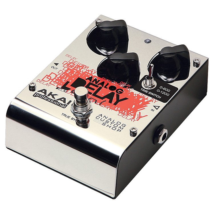 Akai Professional Analog Custom Shop Analog Delay Guitar Effects Pedal