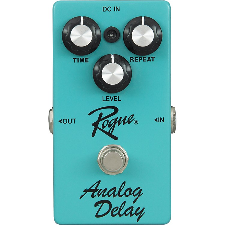rogue analog delay guitar effects pedal music123. Black Bedroom Furniture Sets. Home Design Ideas