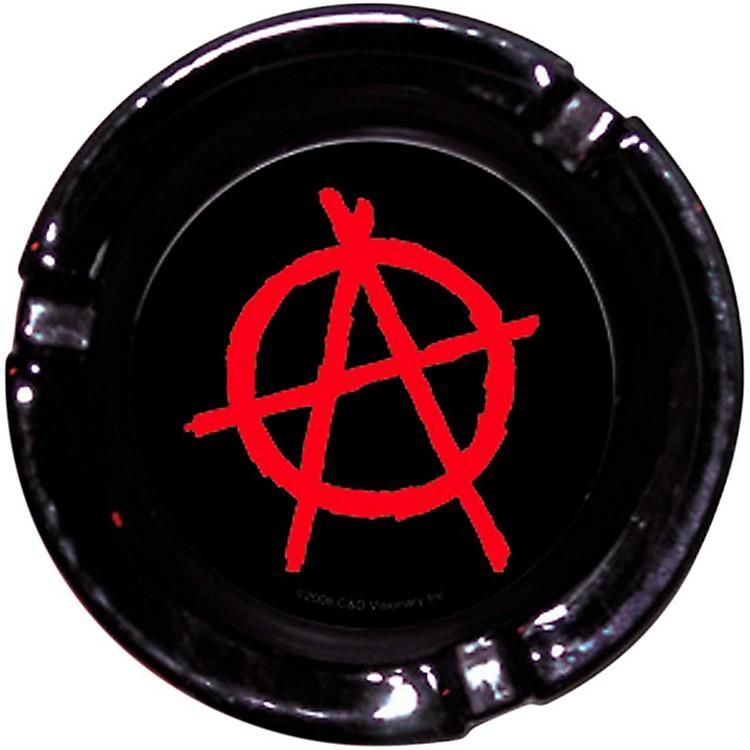 C&D VisionaryAnarchy Logo Glass Ashtray