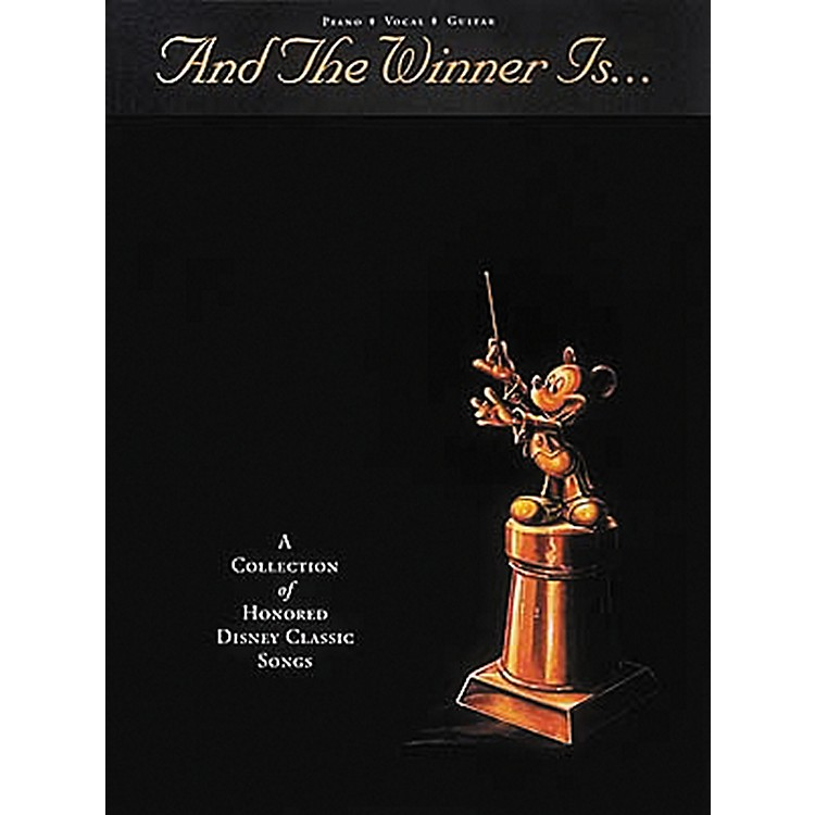 Hal LeonardAnd The Winner Is¦ Piano, Vocal, Guitar Songbook