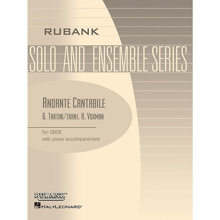 Rubank PublicationsAndante Cantabile (Oboe Solo with Piano - Grade 3) Rubank Solo/Ensemble Sheet Series