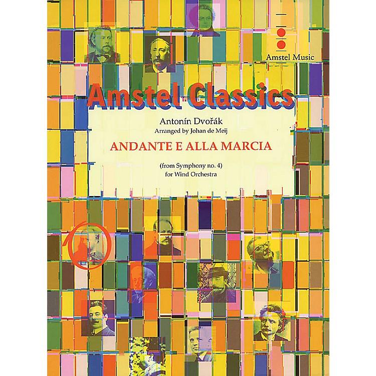 Amstel MusicAndante e Alla Marcia (from Symphony No. 4) (Score and Parts) Concert Band Level 4 by Johan de Meij
