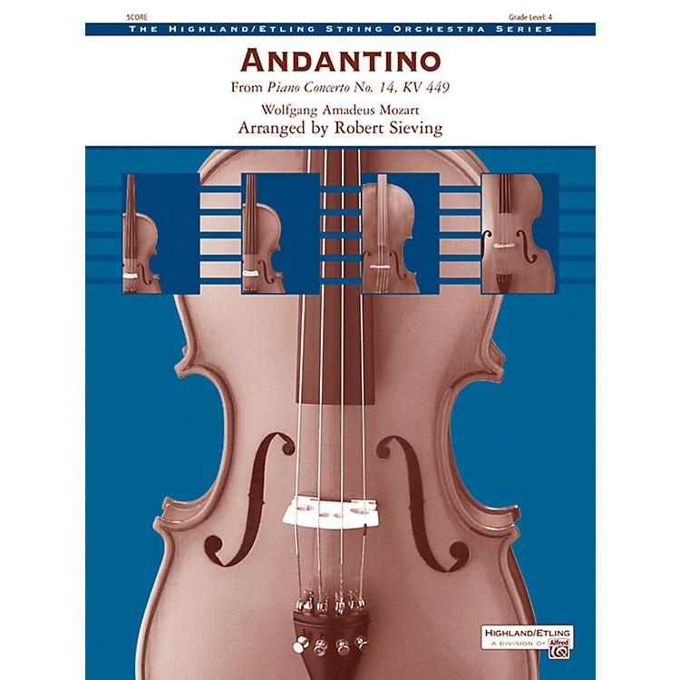 AlfredAndantino String Orchestra Grade 4 Set