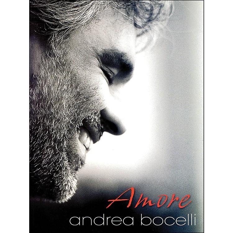 Hal LeonardAndrea Bocelli Amore arranged for piano, vocal, and guitar (P/V/G)