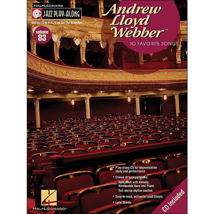 Hal LeonardAndrew Lloyd Webber - Jazz Play-Along Volume 83 (CD/Pkg)