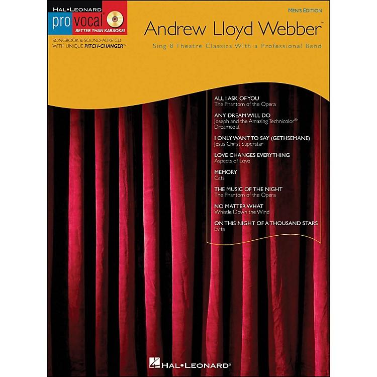 Hal LeonardAndrew Lloyd Webber - Pro Vocal Songbook Men's Edition Volume 11 Book/CD