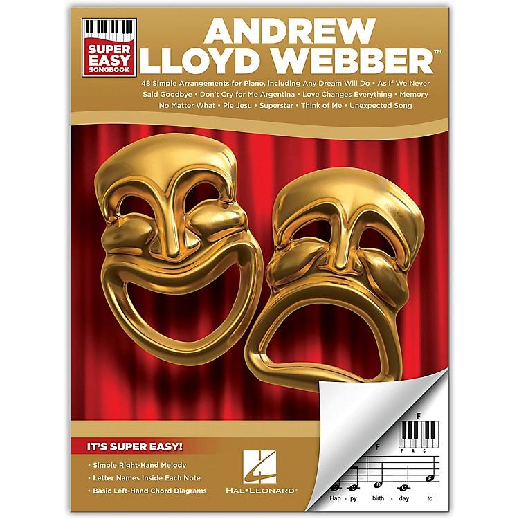 Hal LeonardAndrew Lloyd Webber - Super Easy Songbook