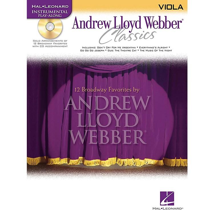 Hal LeonardAndrew Lloyd Webber Classics - Viola Instrumental Play-Along Series Softcover with CD