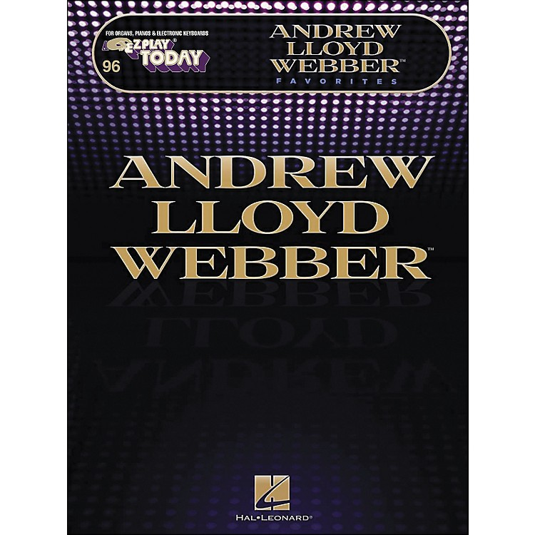 Hal Leonard Andrew Lloyd Webber Favorites E-Z Play 246