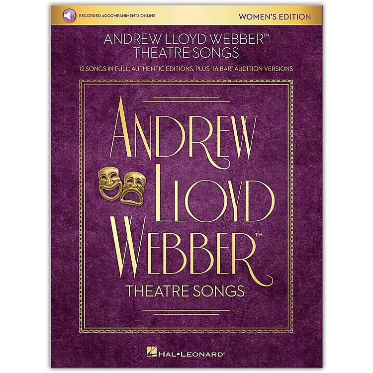 Hal LeonardAndrew Lloyd Webber Theatre Songs - Women's Edition Vocal Collection Book/Audio Online