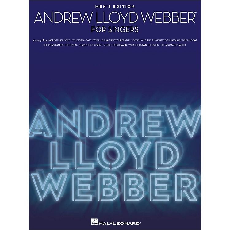 Hal LeonardAndrew Lloyd Webber for Singers - Men's Edition