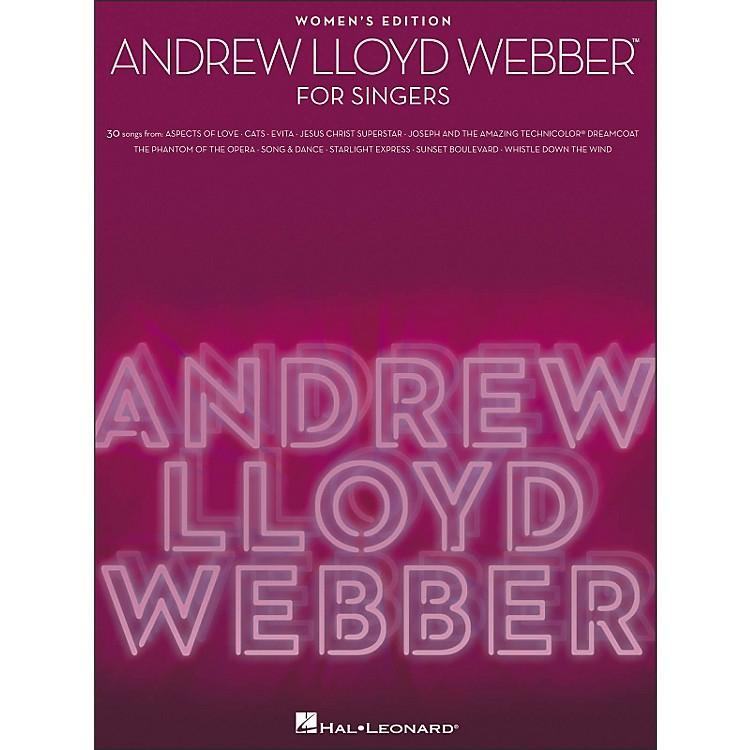 Hal LeonardAndrew Lloyd Webber for Singers - Women's Edition