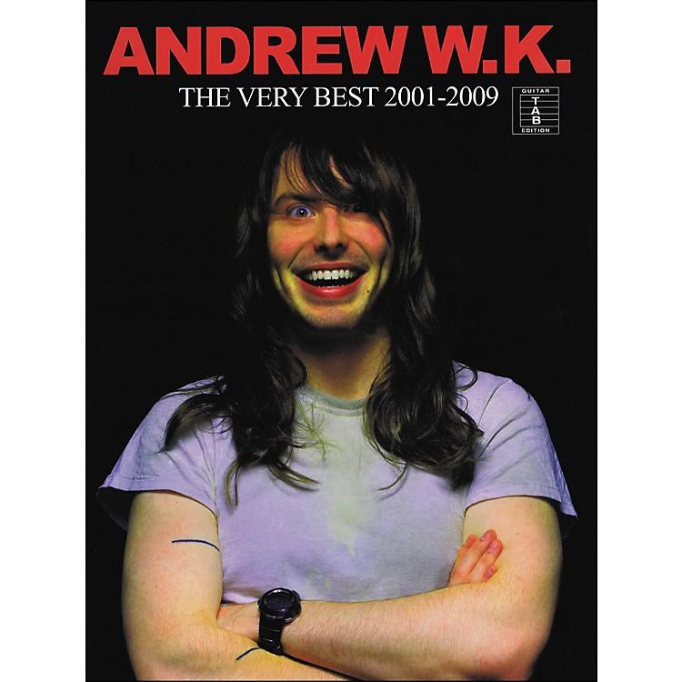 Hal LeonardAndrew W.K. - The Very Best 2001-2009 Tab Book