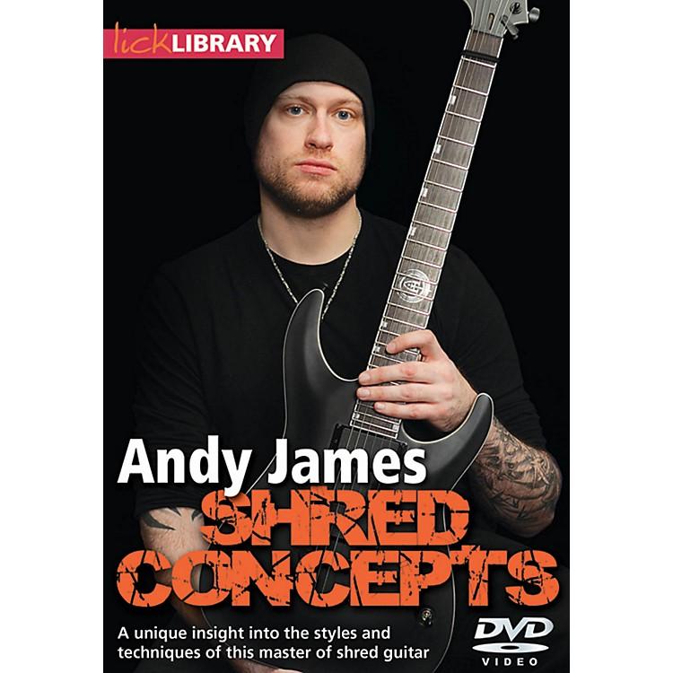 Hal LeonardAndy James Shred Concepts DVD Lick Library