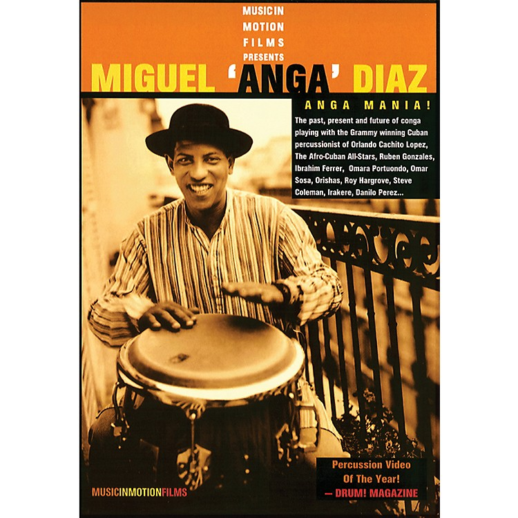 AlfredAnga Mania - Miguel Anga Diaz DVD