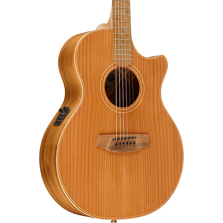 Cole Clark Angel 2 Series Australian Eco Redwood/Blackwood Grand Auditorium Acoustic-Electric Guitar Natural