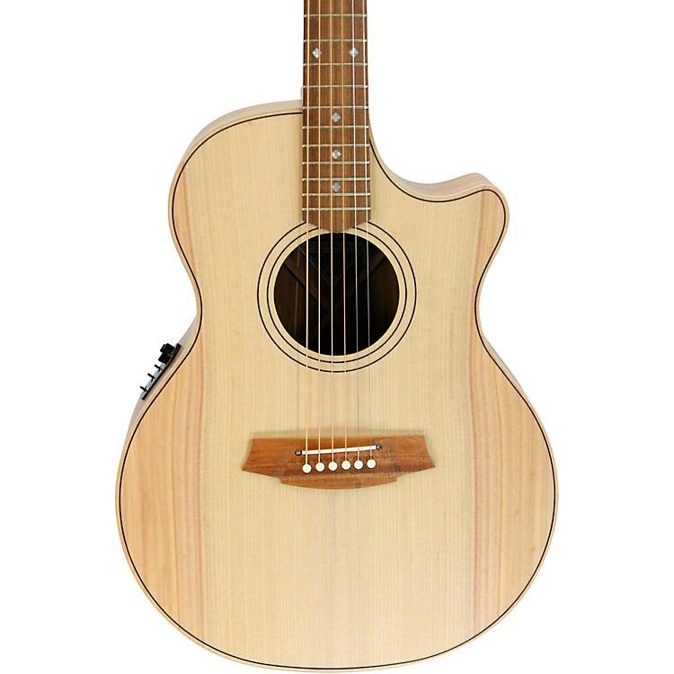 Cole ClarkAngel 2 Series Bunya/Blackwood Cutaway Grand Auditorium Acoustic-Electric GuitarNatural
