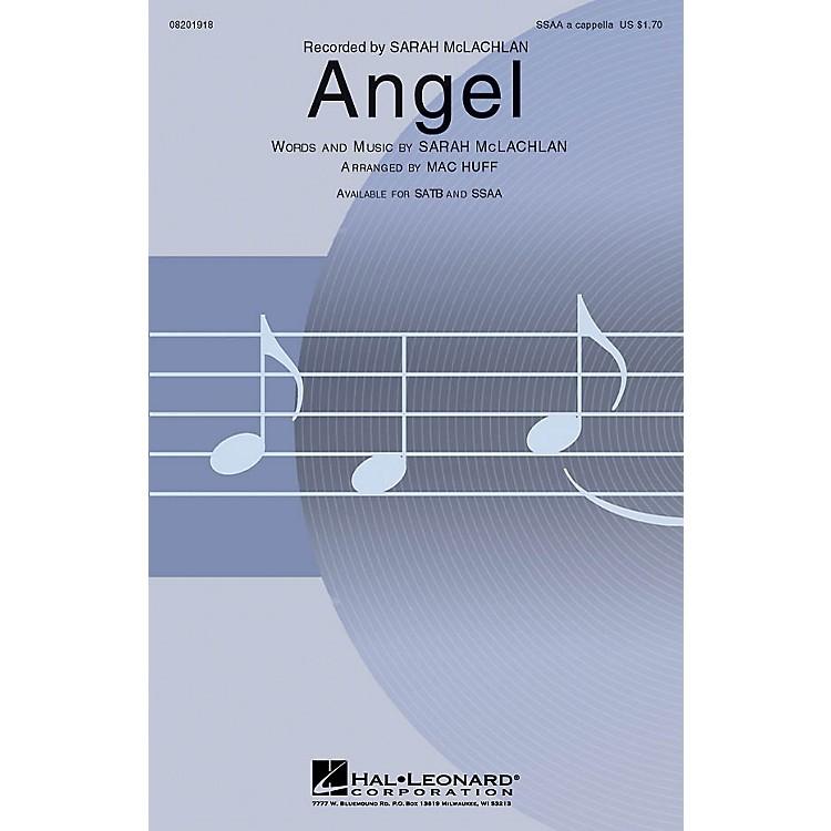 Hal LeonardAngel SSAA A Cappella by Sarah McLachlan arranged by Mac Huff