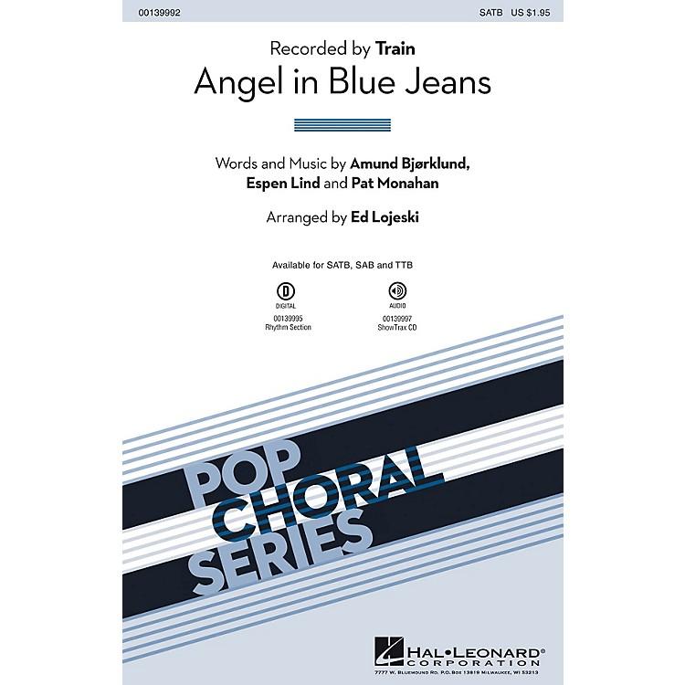 Hal LeonardAngel in Blue Jeans SATB by Train arranged by Ed Lojeski