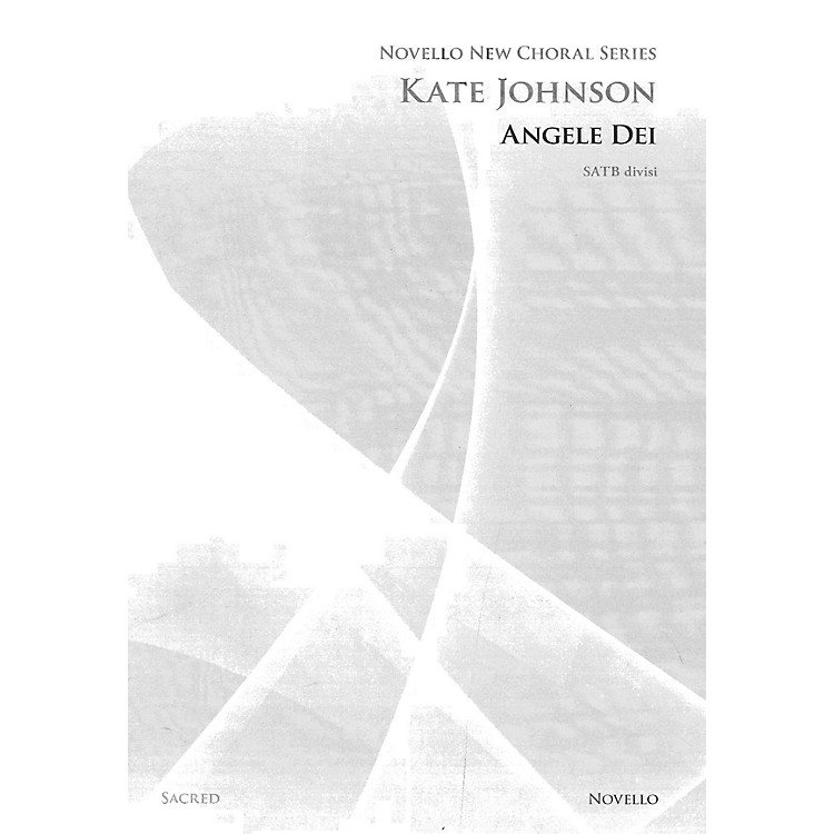 Novello Angele Dei SATB DV A Cappella Composed by Kate Johnson