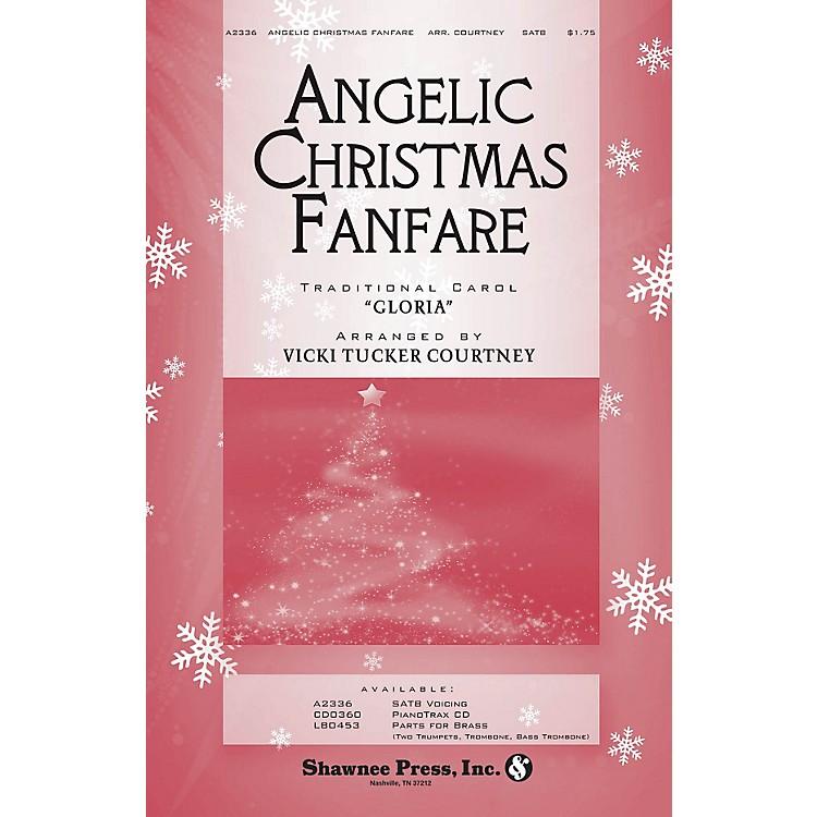 Shawnee PressAngelic Christmas Fanfare SATB arranged by Vicki Tucker Courtney