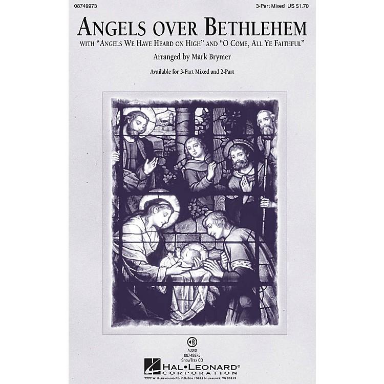 Hal LeonardAngels Over Bethlehem 2-Part Arranged by Mark Brymer