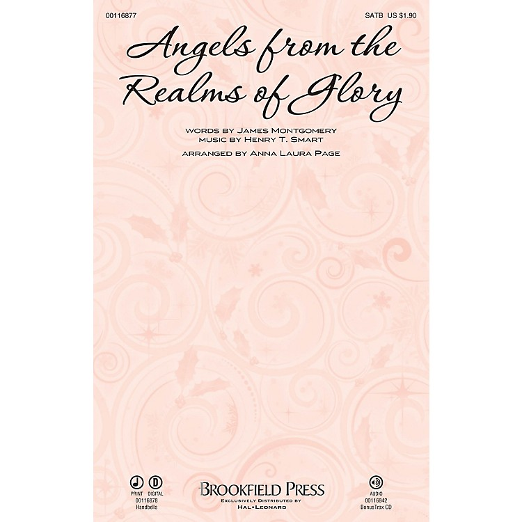 BrookfieldAngels from the Realms of Glory HANDBELL PARTS (5PAK) Arranged by Anna Laura Page