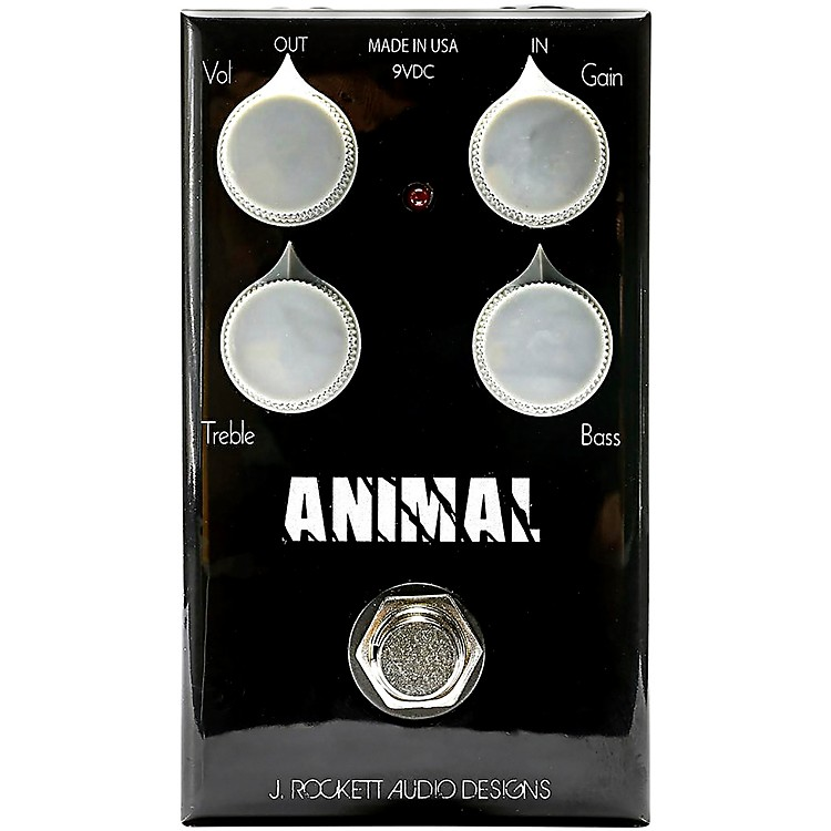 Rockett Pedals Animal OD Overdrive Effects Pedal