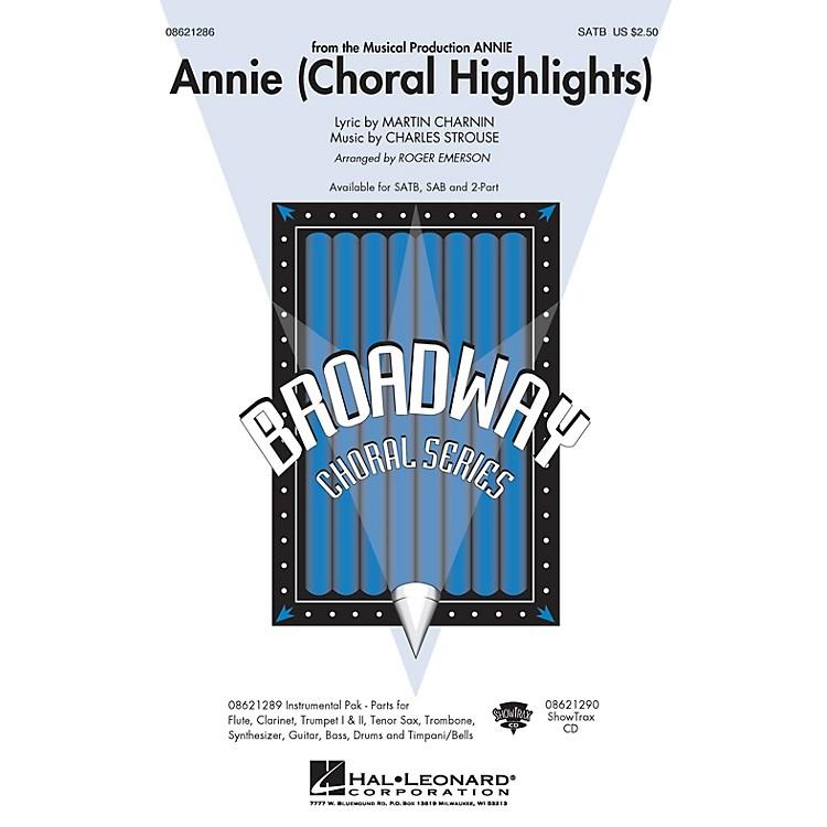 Hal LeonardAnnie (Choral Highlights) SATB arranged by Roger Emerson