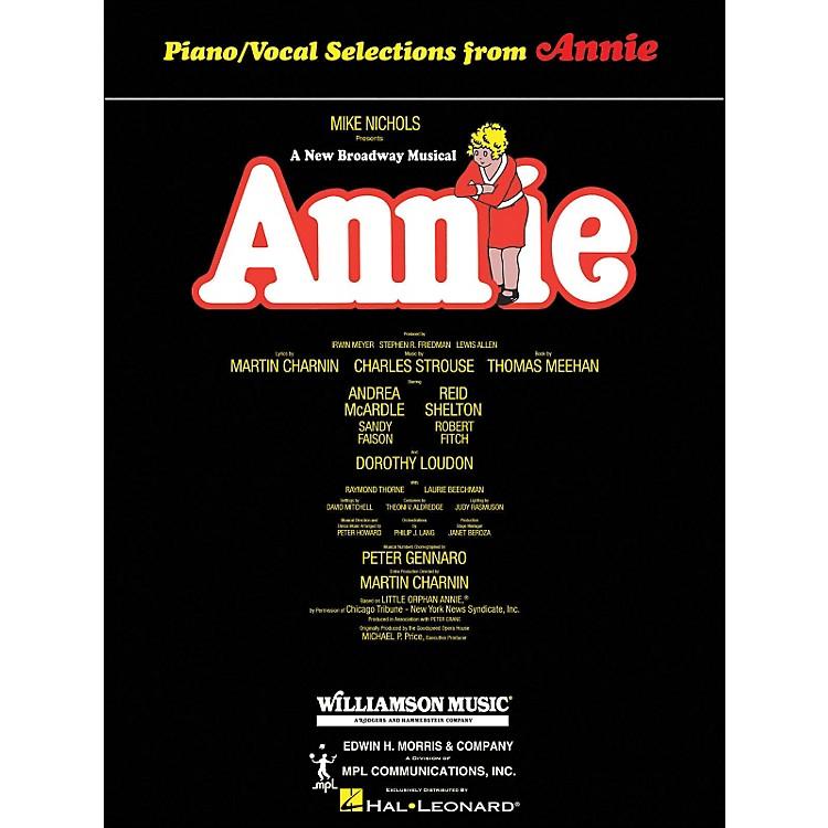 Hal LeonardAnnie arranged for piano, vocal, and guitar (P/V/G)