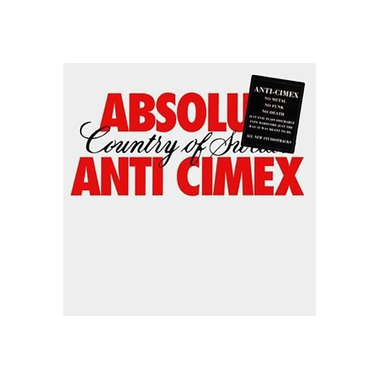 AllianceAnti Cimex - Absolut Country Of Sweden