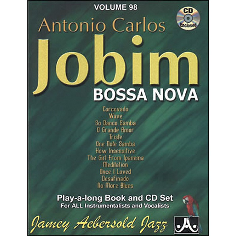 Jamey AebersoldAntonio Carlos Jobim - Bossa Nova Book and CD