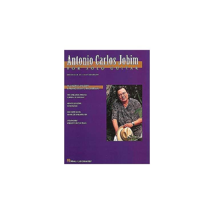 Hal LeonardAntonio Carlos Jobim for Solo Guitar