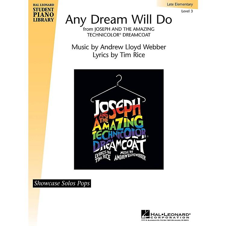 Hal LeonardAny Dream Will Do Piano Library Series by Andrew Lloyd Webber (Level Late Elem)