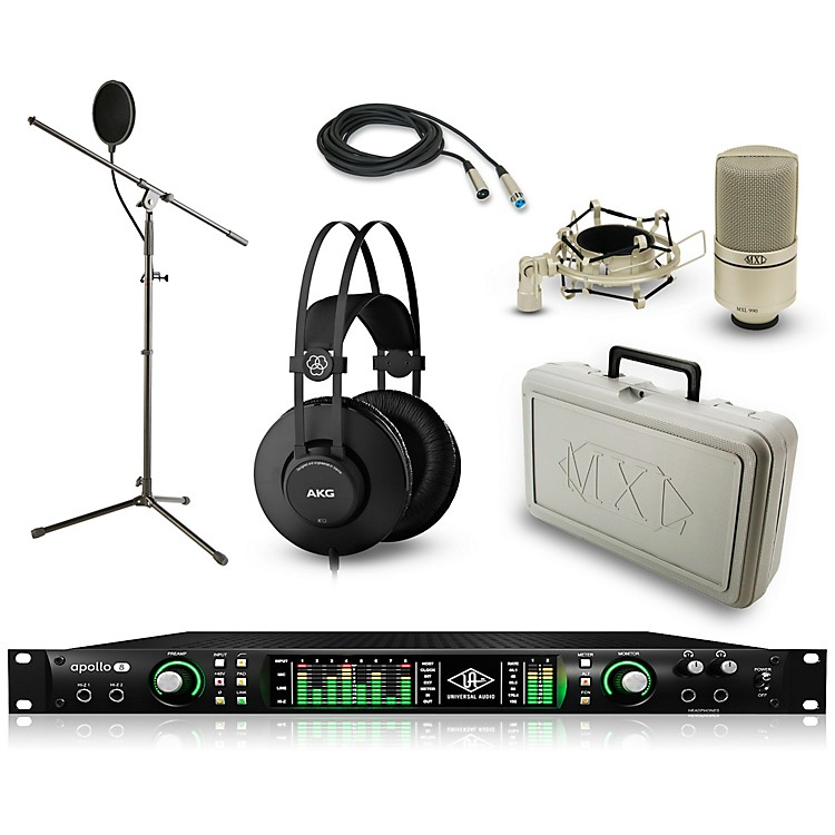 Universal Audio Apollo 8 Thunderbolt Duo, K52 and 990 Package