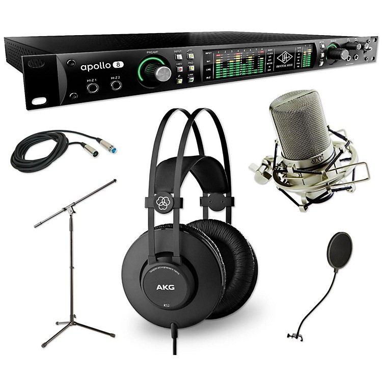 universal audio apollo 8 thunderbolt quad k52 and 990 package music123. Black Bedroom Furniture Sets. Home Design Ideas